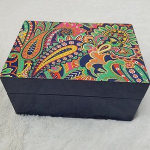 Vera Bradley Venetian Paisley Jewelry Box